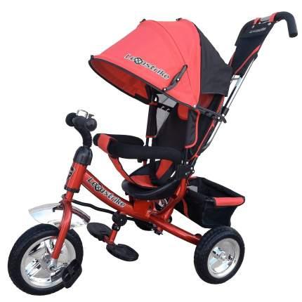 Велосипед детский трехколесный Lexus Trike с ручкой управления, цвет красный