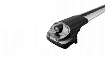 Багажник на рейлинги Turtle Air-1 106 см (серебристый)