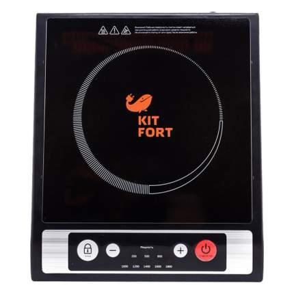 Настольная электрическая плитка Kitfort KT-107 Black