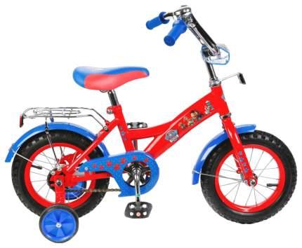 Велосипед Детский Двухколесный Mustang Щенячий Патруль St12010-Gw-No Красно-Голубой