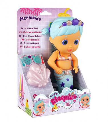 Bloopies Кукла русалочка для купания Lovely