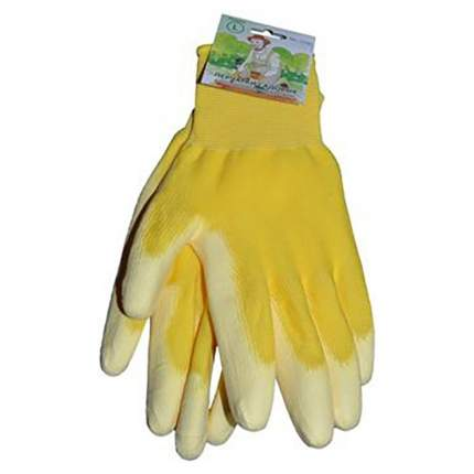 Перчатки жёлтые M (12шт/уп)