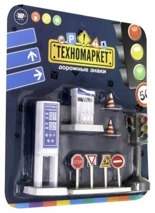 Светофор и дорожные знаки, свет. эффекты, на блистере, 26,5х5х29 см