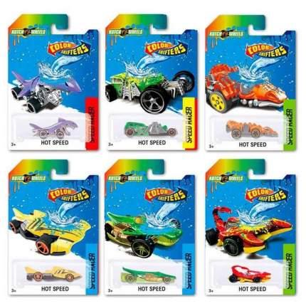 Машина Junfa toys металлическая, меняющая цвет в воде GBS868-1 в ассортименте