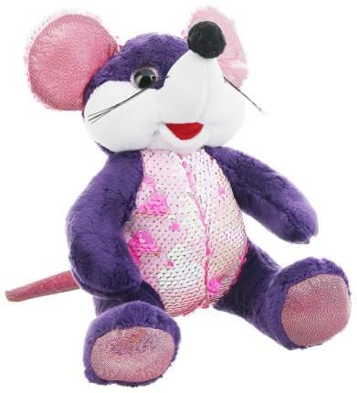 Мышь с пайетками, мягконабивная, 20см