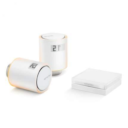 Умные радиаторные клапаны Netatmo Smart Radiator Valves White