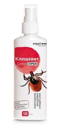 Отпугиватель насекомых Август НК033555 Клещевит Супер спрей 100 мл