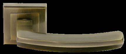 Ручка дверная Rucetti RAP 11-S AB, цвет - античная бронза