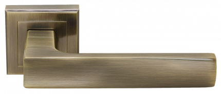 Ручка дверная Rucetti RAP 14-S AB, цвет - античная бронза