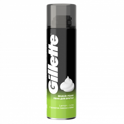 Пена для бритья Gillette Лимон-лайм 200 мл