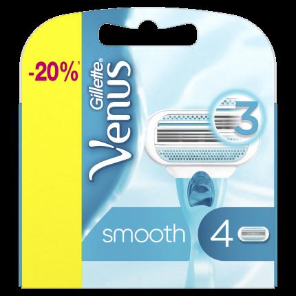 Сменные кассеты Venus Venus для бритья 4 шт