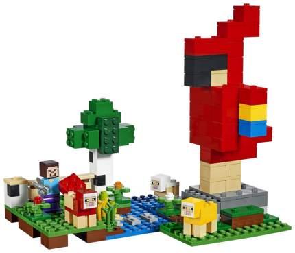 Конструктор Lego Minecraft Шерстяная ферма