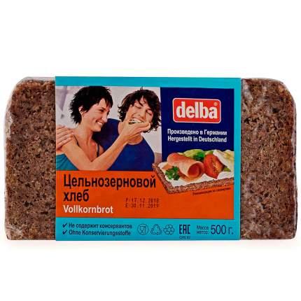 Хлеб Delba цельнозерновой, длинный брикет, 500 гр.