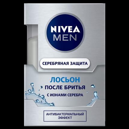 Лосьон после бритья NIVEA Серебряная защита 100мл