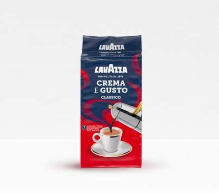 Кофе молотый LavAzza crema e gusto 250 г