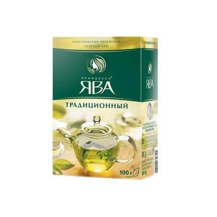 Чай зеленый листовой Принцесса Ява Традиционный 100 г