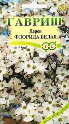 Семена деревьев и кустарников Гавриш Дерен цветущий Флорида белая 0,3 г
