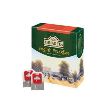 Чай черный Ahmad Tea english breakfast 100 пакетиков