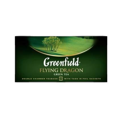 Чай зеленый Greenfield Flying Dragon 25 пакетиков