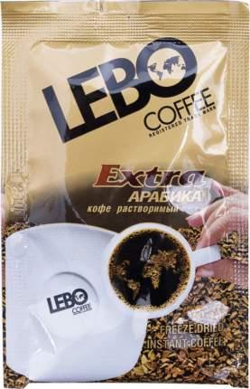 Кофе растворимый Lebo extra арабика 25 пакетиков по 2 г