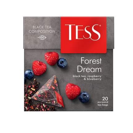 Чай черный в пирамидках Tess Forest Dream 20 пакетиков