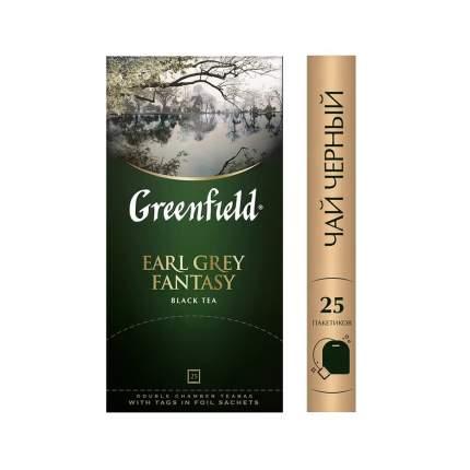 Чай черный Greenfield Earl Grey Fantasy 25 пакетиков