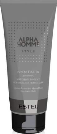 Крем-паста для волос Estel Professional Alpha Homme С матовым эффектом 100 г