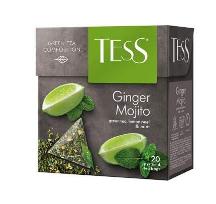 Чай зеленый в пирамидках Tess Ginger Mojito 20 пакетиков