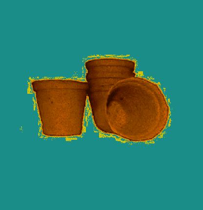 Набор горшков торфяных, 60х60 мм (10 штук)