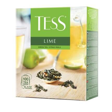 Чай зеленый Tess Lime 100 пакетиков