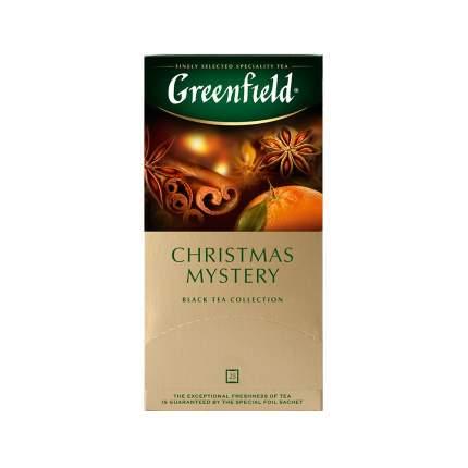 Чай черный Greenfield Christmas Mystery 25 пакетиков