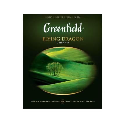 Чай зеленый Greenfield Flying Dragon 100 пакетиков
