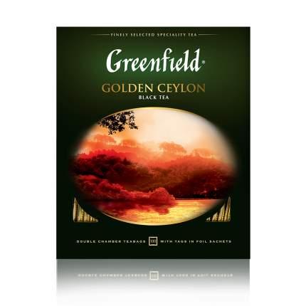 Чай черный Greenfield Golden Ceylon 100 пакетиков