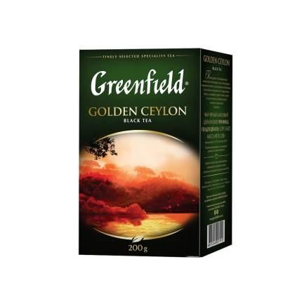 Чай черный листовой Greenfield  Golden Ceylon 200 г
