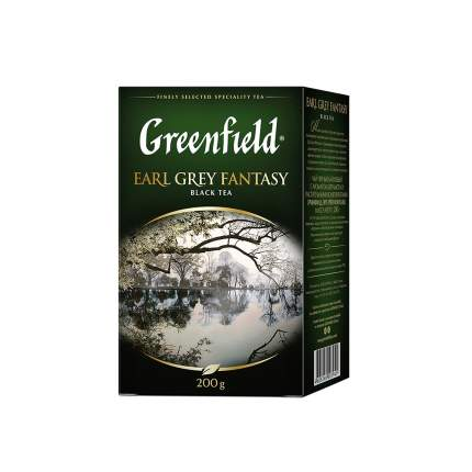 Чай черный листовой Greenfield Earl Grey Fantasy 200 г