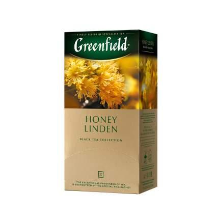 Чай черный Greenfield Honey Linden 25 пакетиков