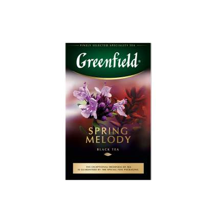Чай черный листовой Greenfield Spring Melody 100 г