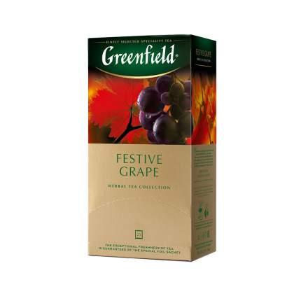 Чай травяной Greenfield Festive Grape 25 пакетиков