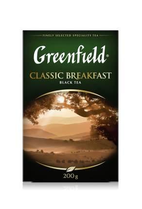 Чай черный листовой Greenfield Classic Breakfast 200 г