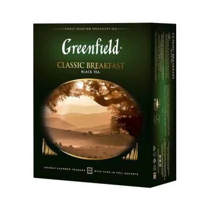 Чай черный Greenfield Classic Breakfast 100 пакетиков