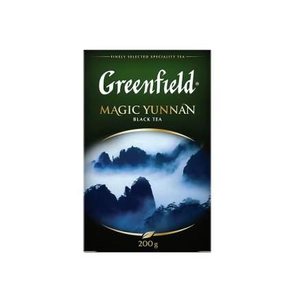 Чай черный листовой Greenfield Magic Yunnan 200 г