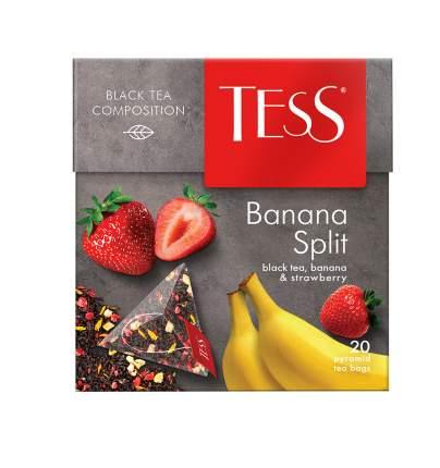 Чай черный  в пирамидках Tess Banana Split 20 пакетиков