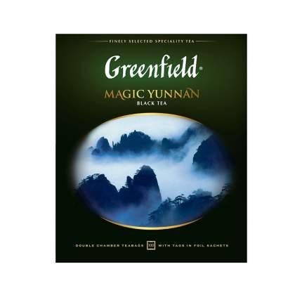 Чай черный Greenfield Magic Yunnan 100 пакетиков