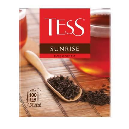 Чай черный Tess Sunrise 100 пакетиков