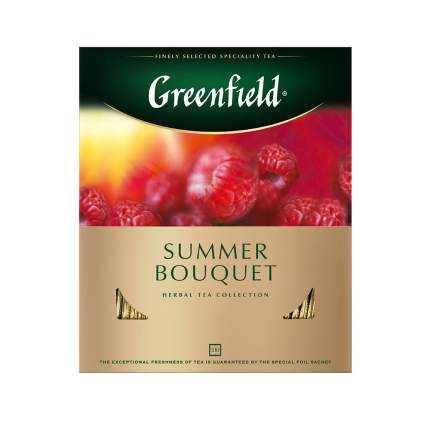 Чай травяной Greenfield Summer Bouquet 100 пакетиков