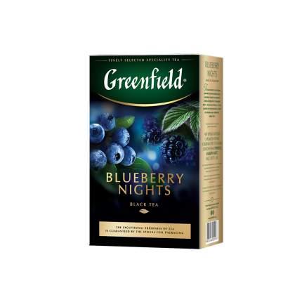 Чай черный листовой Greenfield Blueberry Nights 100 г