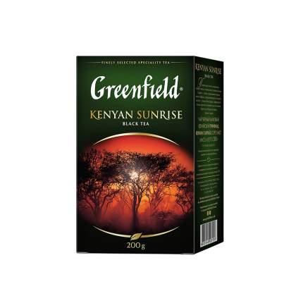 Чай черный листовой Greenfield  Kenyan Sunrise 200 г
