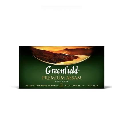 Чай черный Greenfield Premium Assam 25 пакетиков