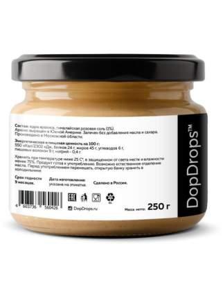 Паста Арахисовая DopDrops Хрустящая Кранч с гималайской солью, 250 г