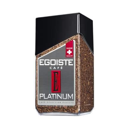 Кофе EGOISTE Platinum сублимированный 100г.